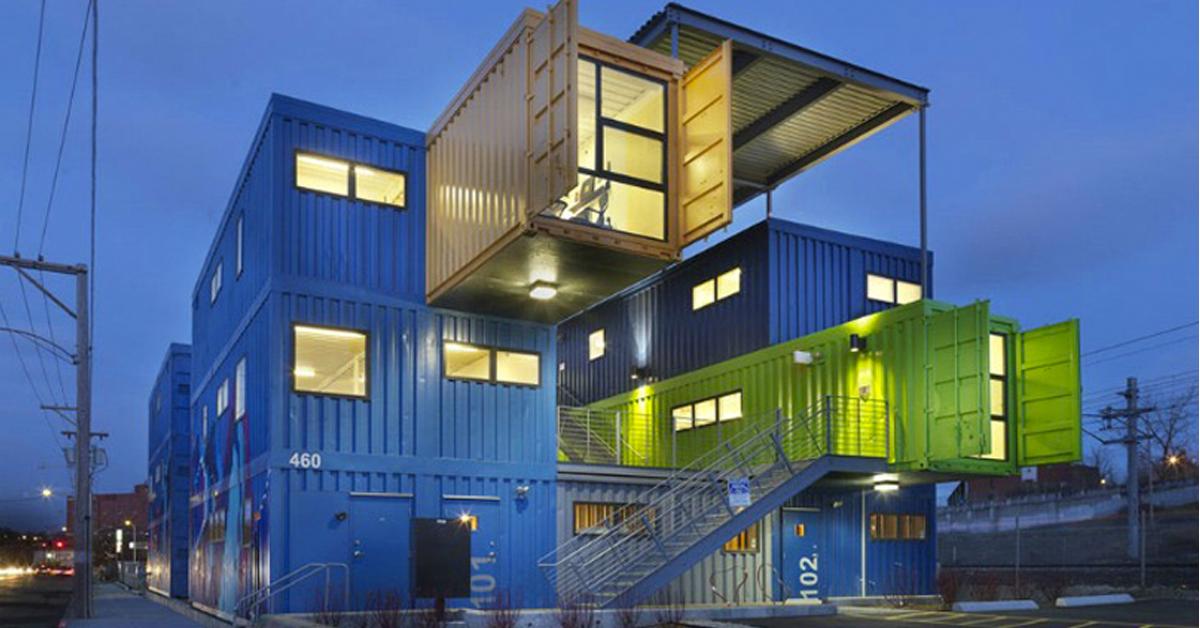 Arquitectura Sostenible: Cómo construir una casa con contenedores marítimos