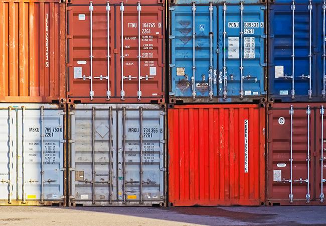 Tipos de contenedores marítimos