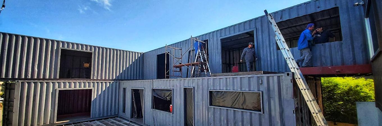 5 Cosas que debes saber acerca de la construcción  con contenedores