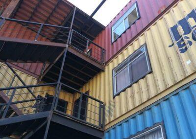 Departamentos con contenedores marítimos