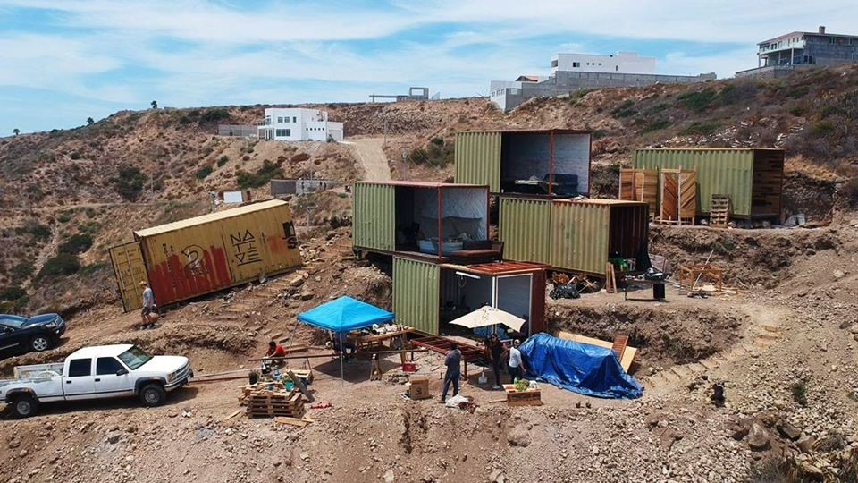 Casas con contenedores