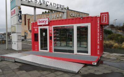 BOXY, una tienda de conveniencia hecha con contenedores marítimos