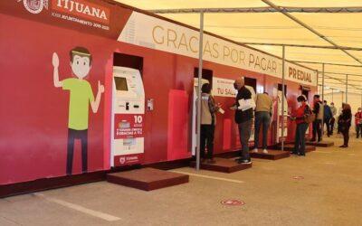 Bunker para pago automático del predial en Tijuana.