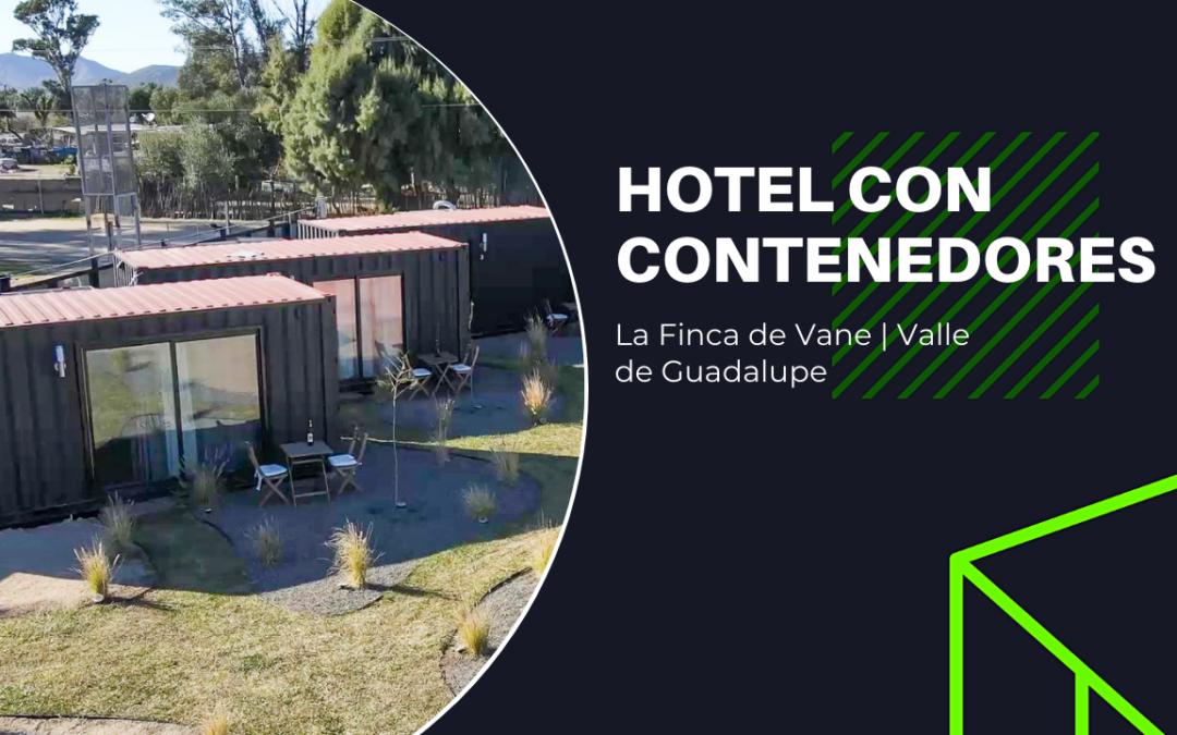 Hotel con Contenedores | La Finca de Vane