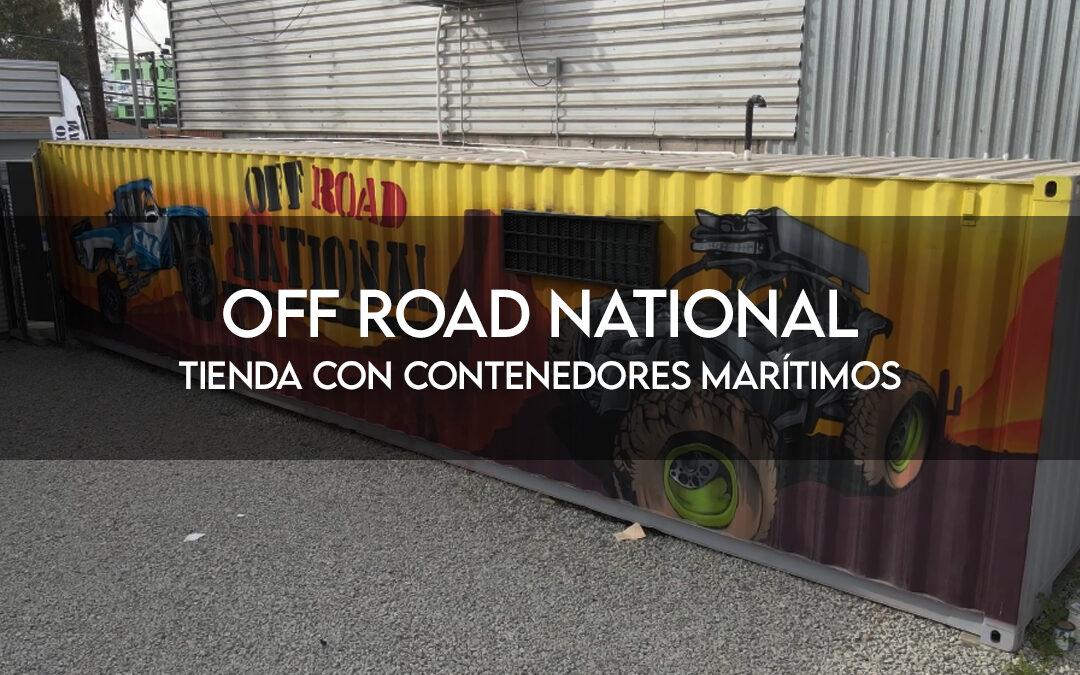 Off Road National | Tienda en contendor